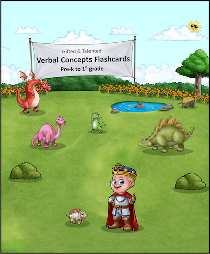 WIPE-CLEAN Verbal Concepts Flash Card Booklet